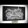 thumbnail Motorcycle Poster Aluminium Acrylic glass Canvas Paper